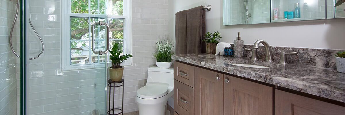 Stephanie & David Sheron - bathroom